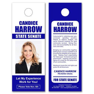 Door Hangers / Door Hanger Templates - SET UP ONLY - DH-10 - Buttonsonline