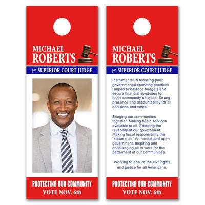 Door Hangers / Door Hanger Templates - SET UP ONLY - DH-13 - Buttonsonline