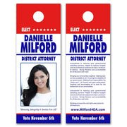 Door Hangers / Door Hanger Templates - SET UP ONLY - DH-14 - Buttonsonline