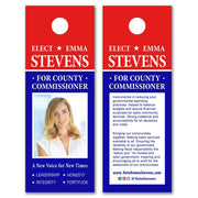 Door Hangers / Door Hanger Templates - SET UP ONLY - DH-18 - Buttonsonline