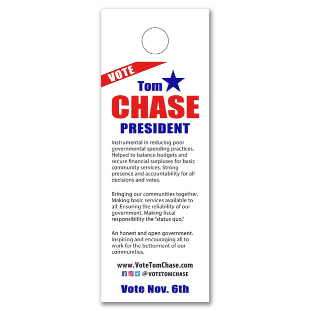 Door Hangers / Door Hanger Templates - SET UP ONLY - DH-4 - Buttonsonline