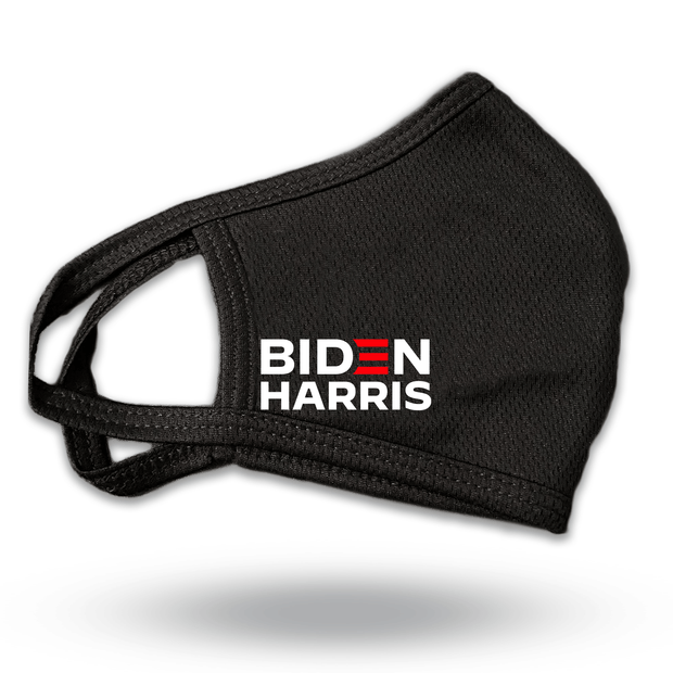 Biden Harris Black Reusable Mask