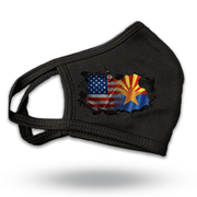 USA / Arizona Flag Breakthrough Reusable Fabric Face Covering