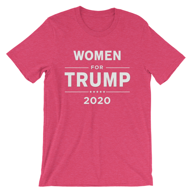 Pink Women for Trump Short-Sleeve Unisex T-Shirt - Buttonsonline