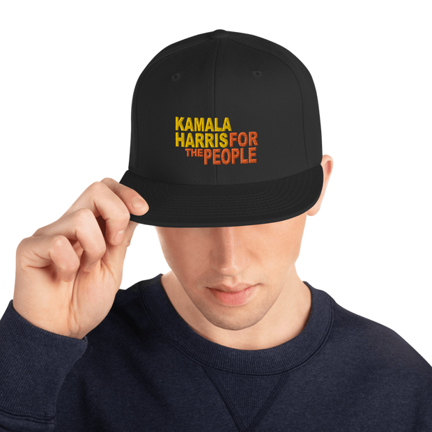 Kamala Harris for the People Snapback Hat - Buttonsonline