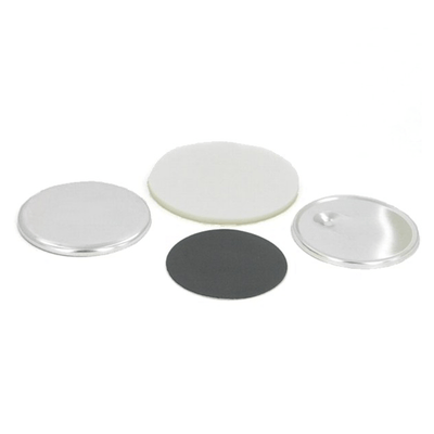 Round magnetback button parts for Model 250 MX button machine, 2-1/2""