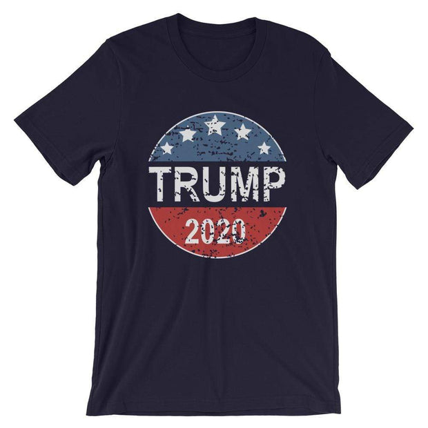 Trump 2020 Distressed Short-Sleeve Unisex T-Shirt - Buttonsonline