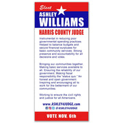 Political Palm Card / Push Card Templates - SET UP ONLY - PC-7 - Buttonsonline