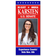 Political Palm Card / Push Card Templates - SET UP ONLY - PC-11 - Buttonsonline