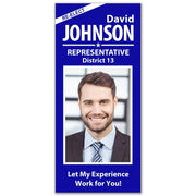 Political Palm Card / Push Card Templates - SET UP ONLY - PC-15 - Buttonsonline