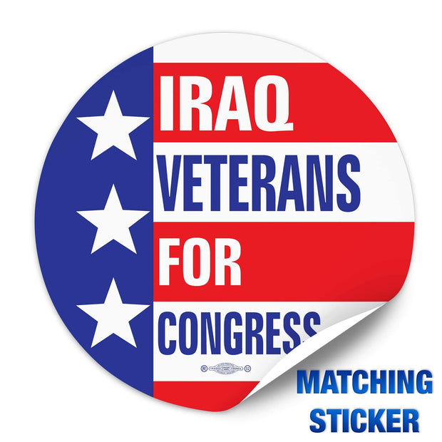 Political Campaign Button Template - PCB-110