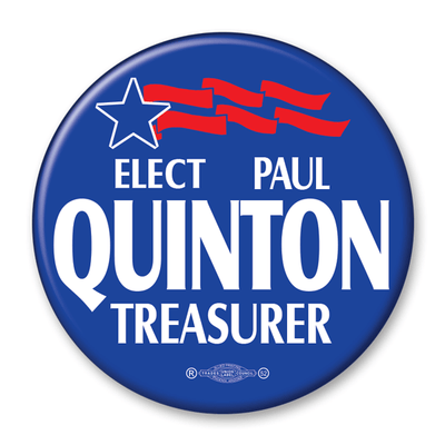 Political Campaign Button Template - PCB-121 - Buttonsonline