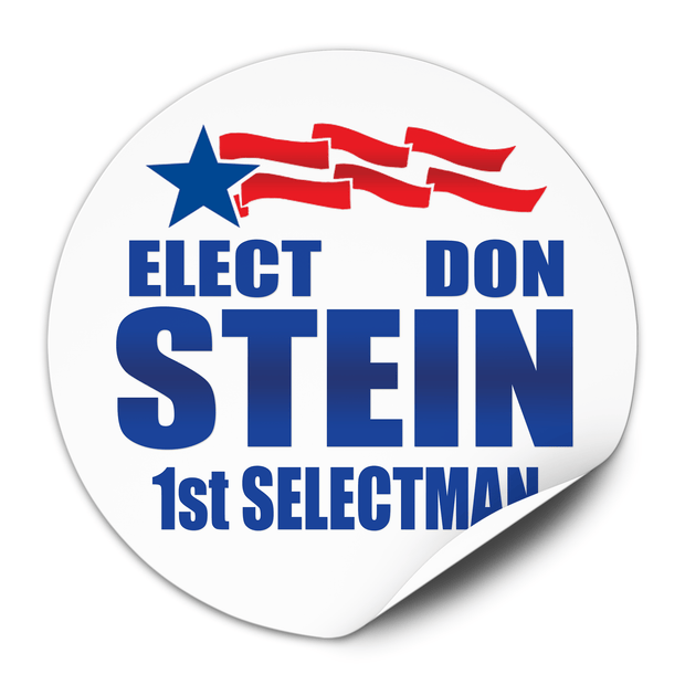 Political Campaign Sticker Template - PCS-112