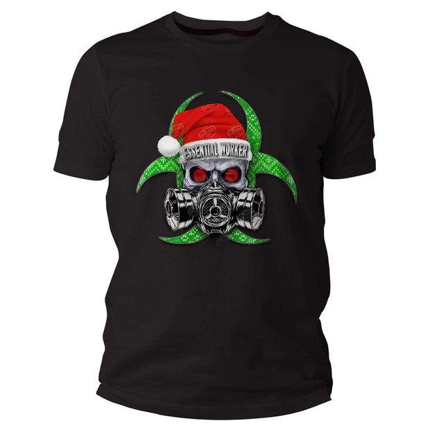 Essential Worker T Shirt Santa Edition