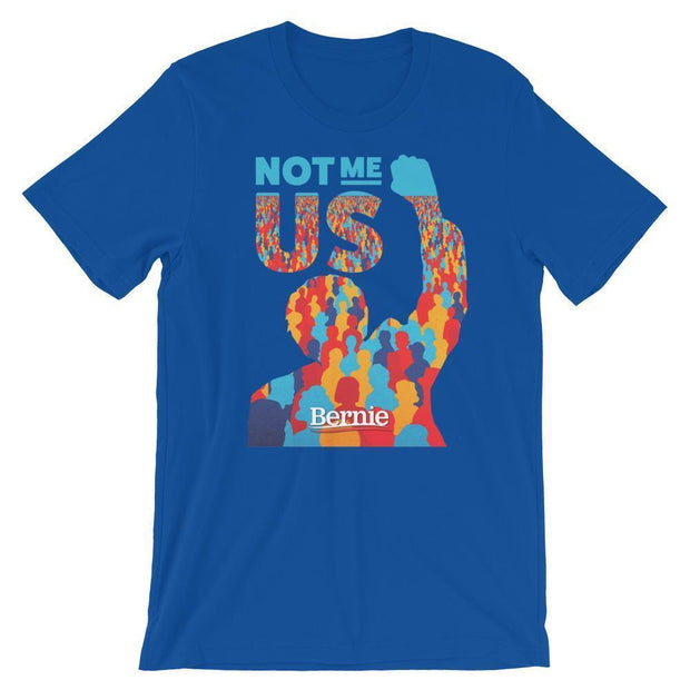 Bernie Sanders 2020 Not Me US Short-Sleeve Unisex T-Shirt - Buttonsonline