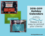 Full 2019-2020 Childcare Holiday Calendars {INSTANT PRINTABLE/DOWNLOAD}