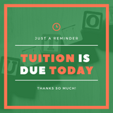 Tuition is Due Graphic Pack {INSTANT DOWNLOAD}