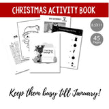 FREE Christmas Winter Holiday Childrens Activity Book {INSTANT PRINTABLE/DOWNLOAD}