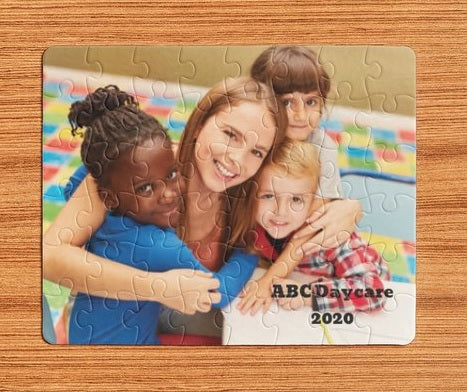 Custom Puzzle - CHILDCARE, DAYCARE, KID'S GIFT, FUNDRAISER