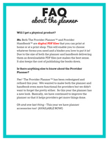 The Provider Planner 2020 {INSTANT PRINTABLE/DOWNLOAD}