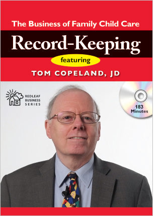 Record Keeping: The Business of Family Child Care [DVD]   Author: Tom Copeland