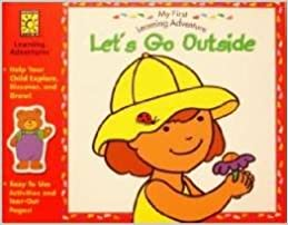 Let's Go Outside - My First Learning Adventure Activity Book
