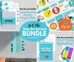 STOP THE SPREAD BUNDLE- COVID-19 Coronavirus - For Childcare Providers {INSTANT PRINTABLE DOWNLOAD}