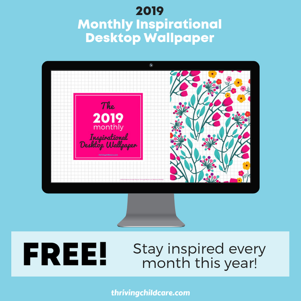 2019 Monthly Inspirational Desktop Wallpaper Pack {INSTANT DOWNLOAD}