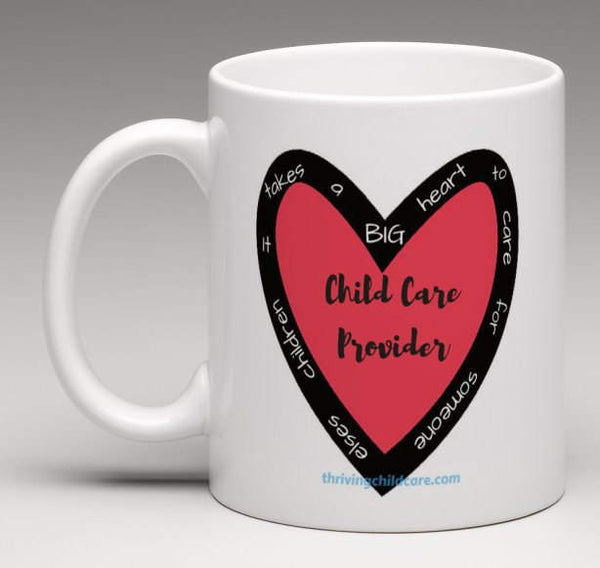MUG:  It takes a BIG Heart