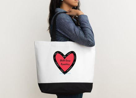 TOTE BAG: It takes a BIG Heart