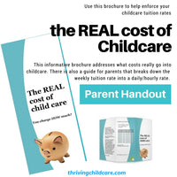 BROCHURE:  The REAL cost of childcare