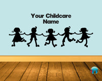 Toddler Tribe Wall Decal Sticker