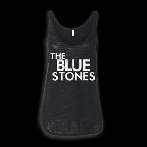 The Blue Stones official merch ladies' tank with logo