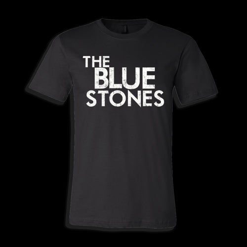 The Blue Stones official merch unisex tee with logo