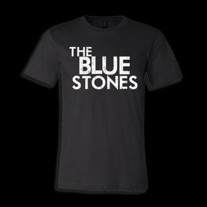 Open image in slideshow, The Blue Stones official merch unisex tee with logo