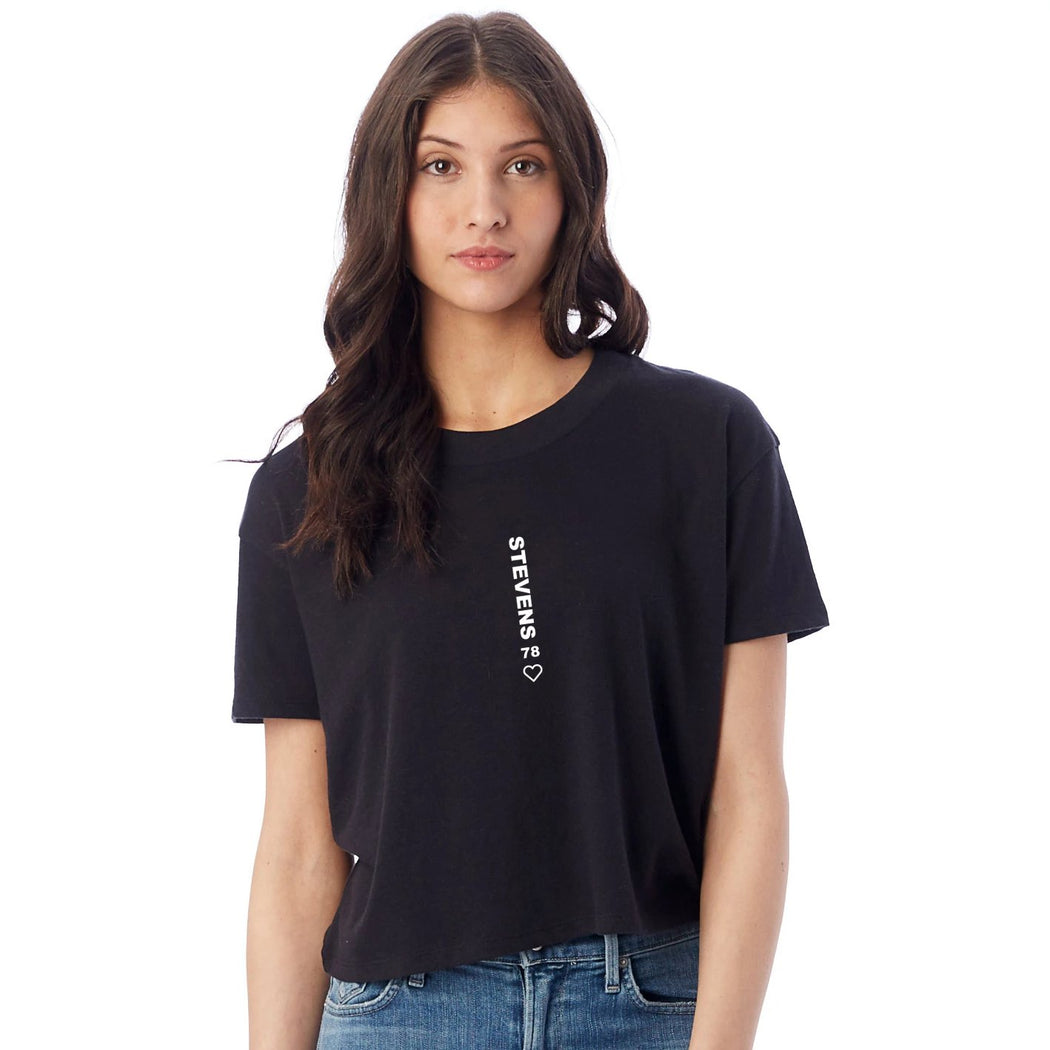 Mind the Gap Crop Tee