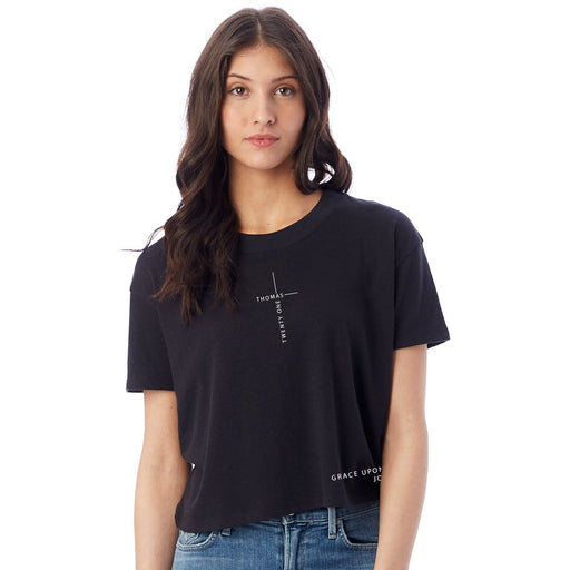 Grace Upon Grace Crop Tee