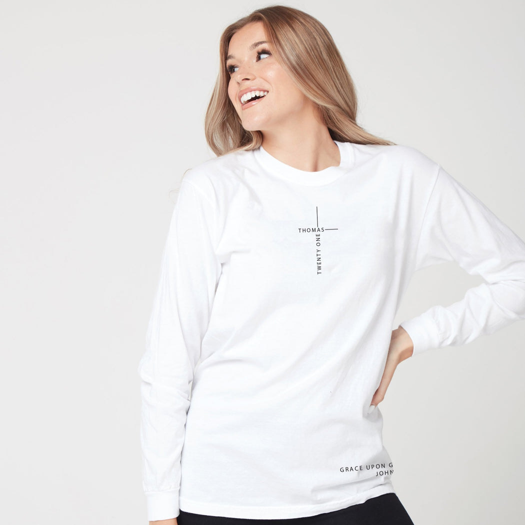 Grace Upon Grace Long Sleeve Tee