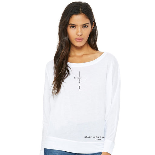 Grace Upon Grace Off the Shoulder Tee
