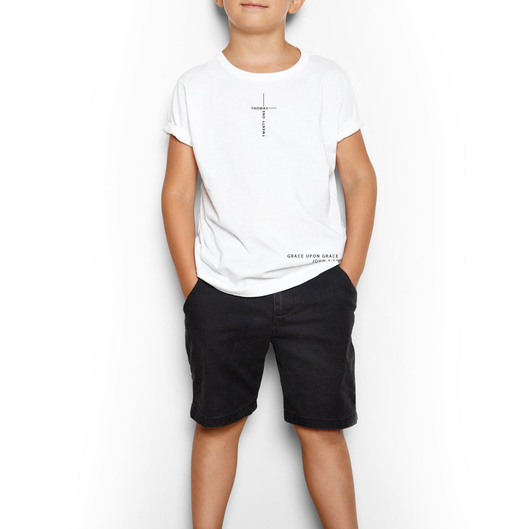 Youth Grace upon Grace Short Sleeve Tee