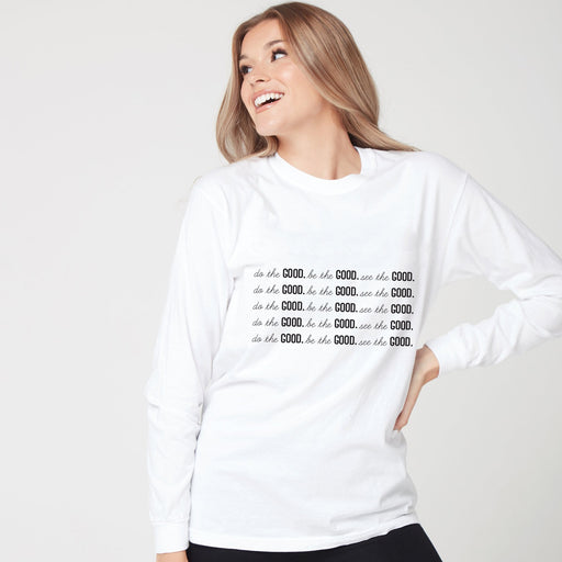 All GOOD Long Sleeve Tee