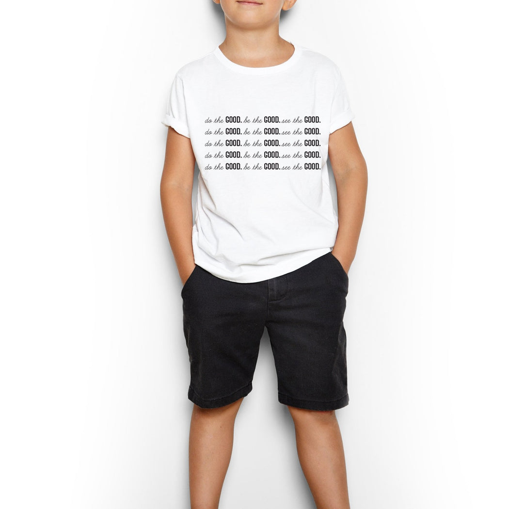 Youth All GOOD Short Sleeve Tee