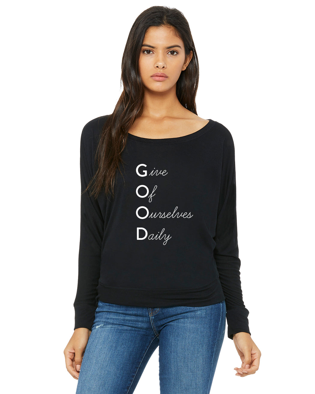 G.O.O.D. Off the Shoulder Tee