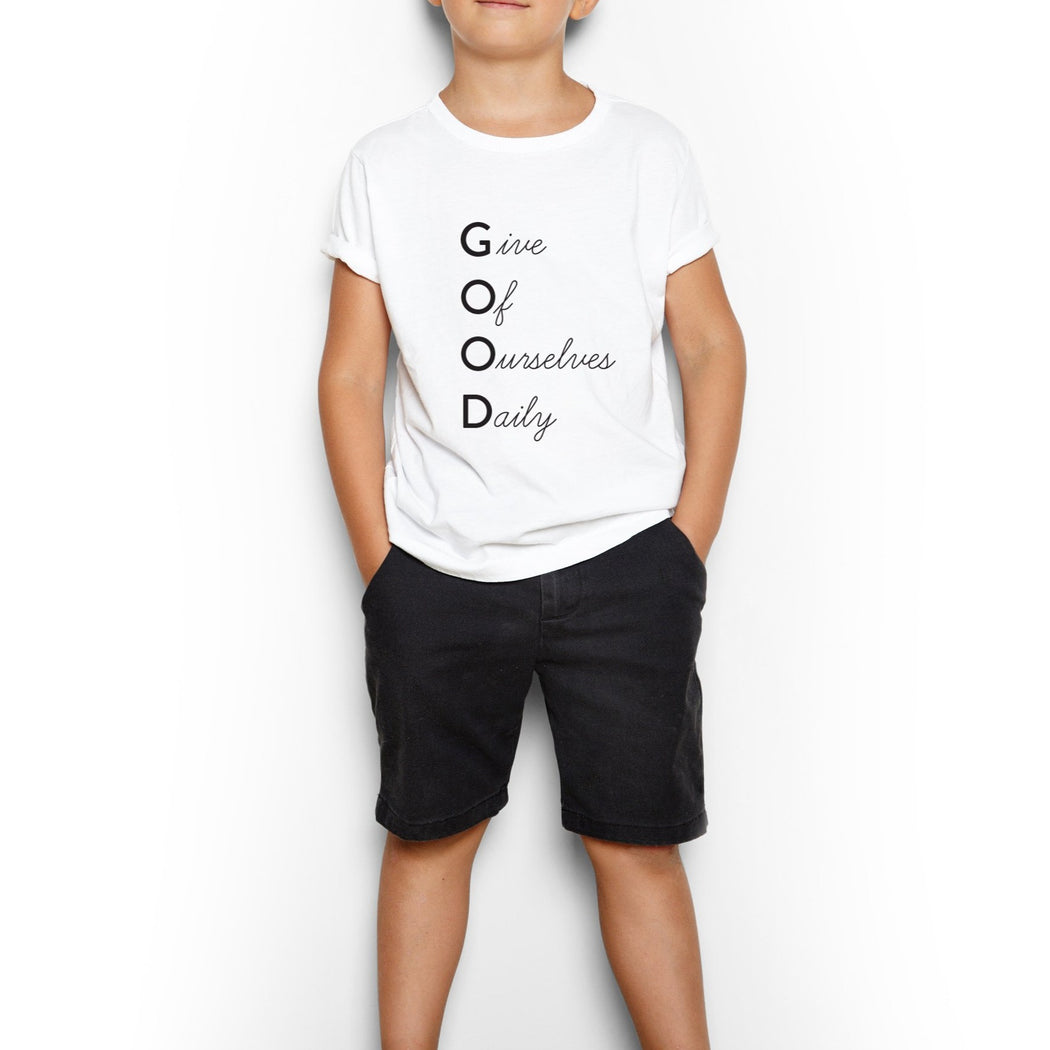 Youth G.O.O.D. Short Sleeve Tee