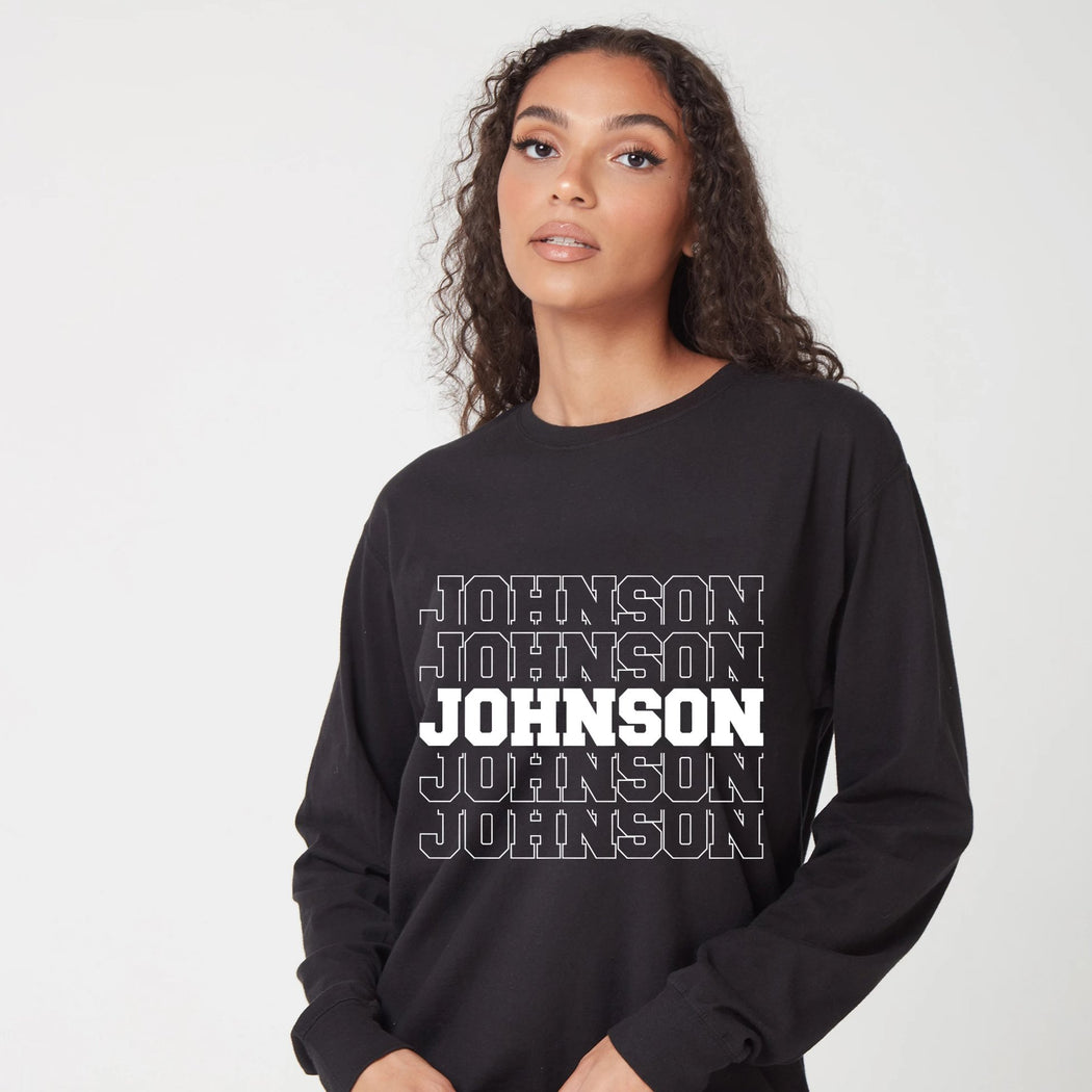 Name Dropper Long Sleeve