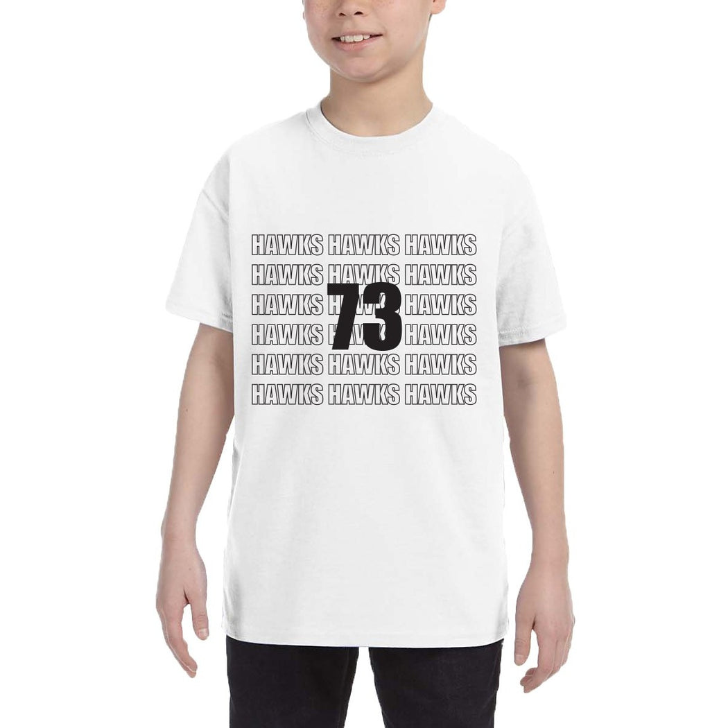 Youth Repeat Short Sleeve Tee