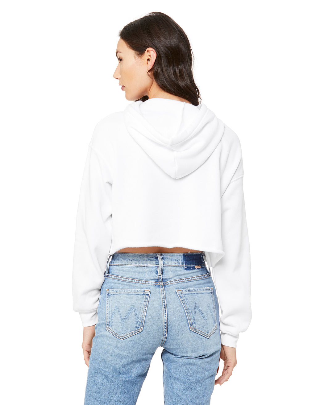 Across the Middle Crop Hoodie
