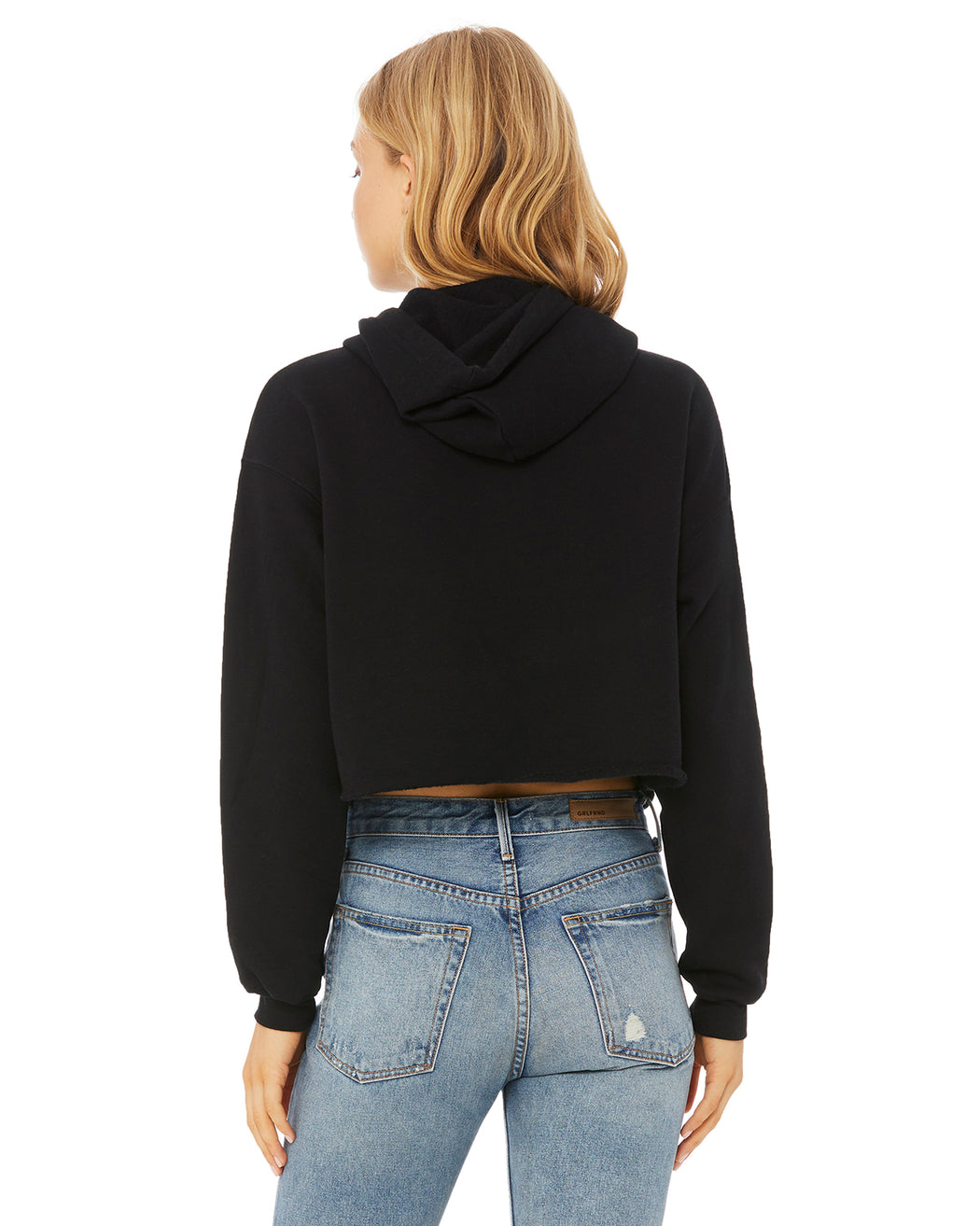 Burning Love Crop Hoodie