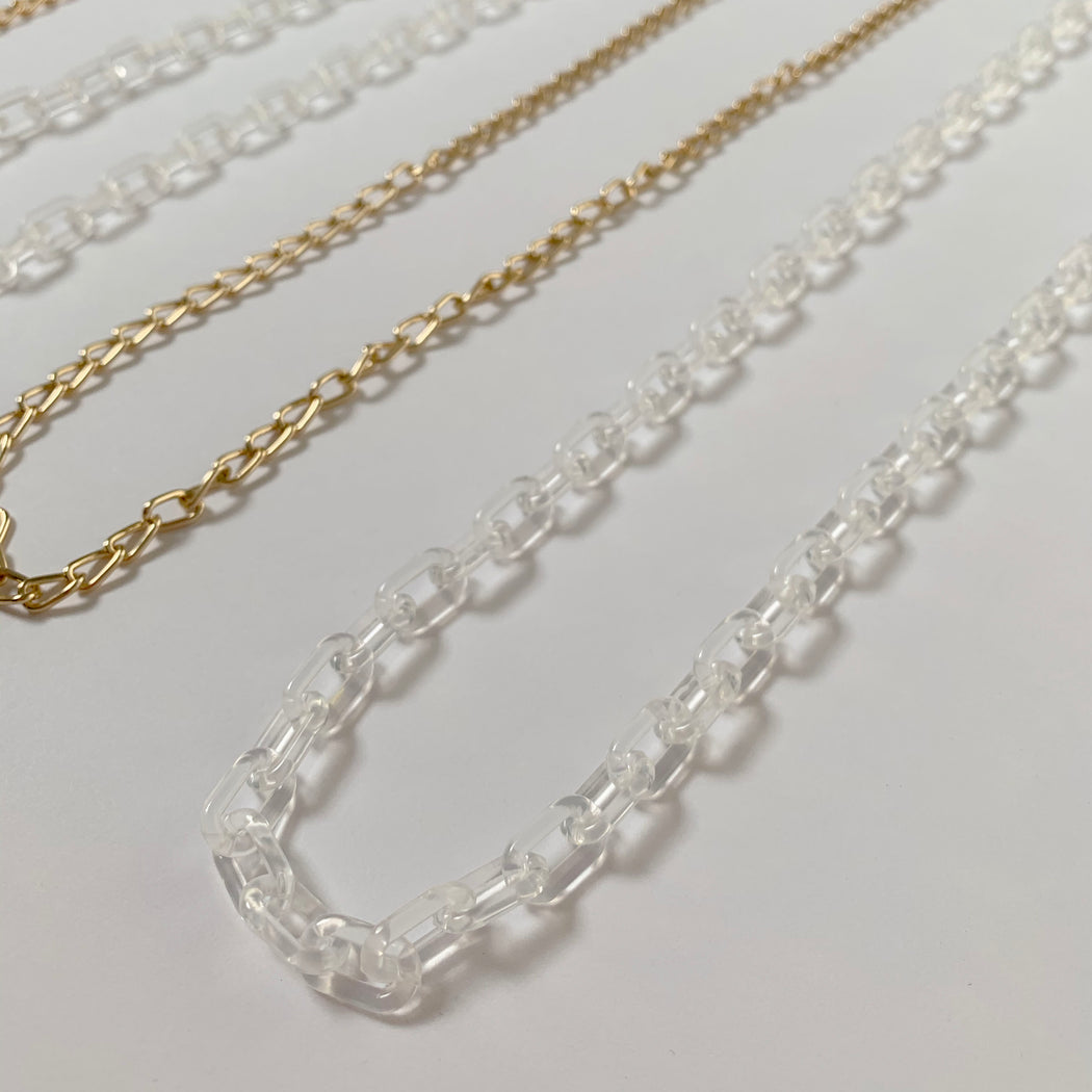 Crystal Clear Mask Chain