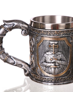 3D Knight Coffee Beer Mug